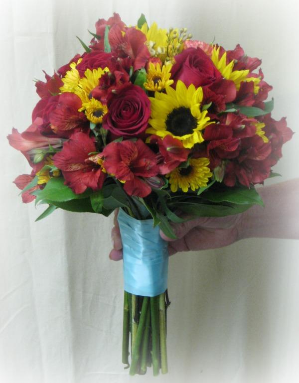 Bride's Autumn Bouquet