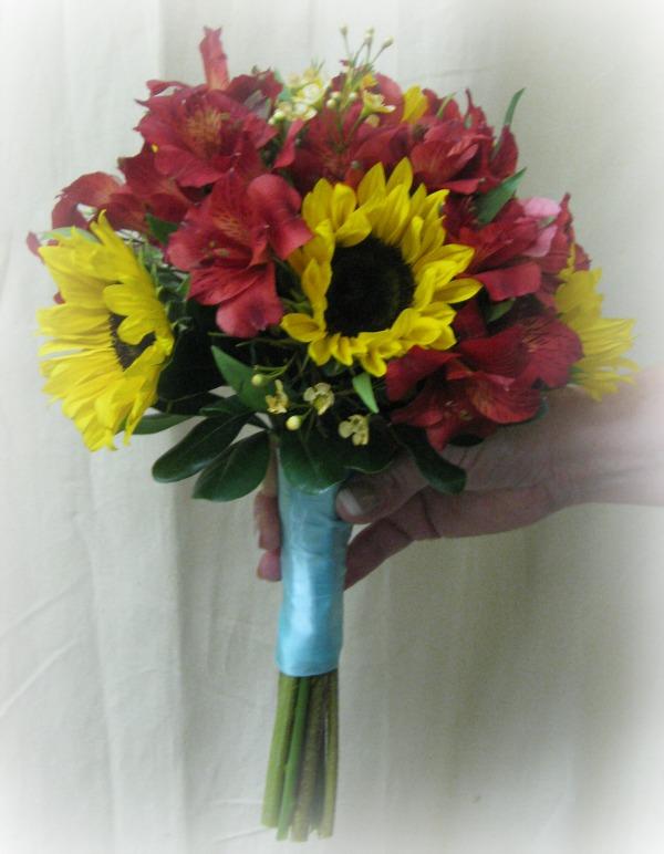 Bride's Maid Autumn Bouquet