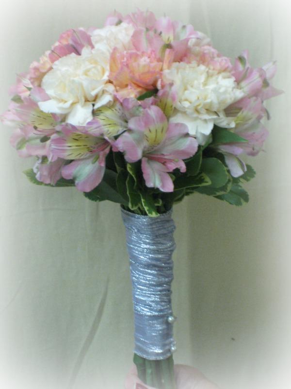 Carnation and Alstromeria Bouquet