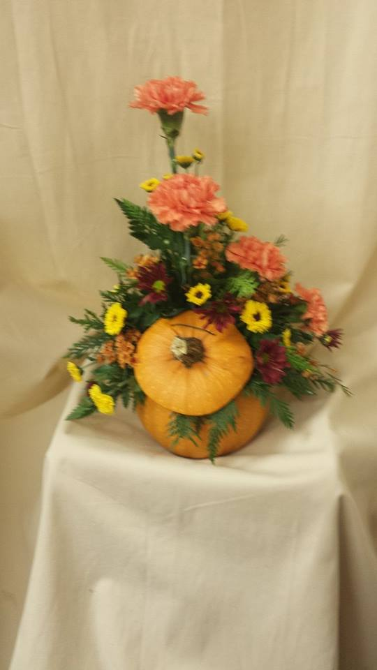 Pumpkin Arrangment